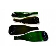 Pure flat wine bottle